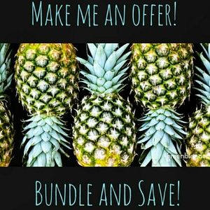 Make Me a Reasonable Offer or Bundle and Save!